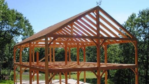 木结构建筑主要的三种表现形式